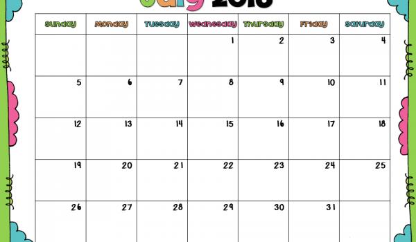 Free 2015 – 2016 Calendar