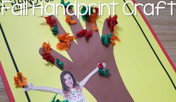 Fall Handprint Craft
